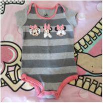 Body Minnie - 6 a 9 meses - Disney