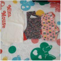 Combo batinha Baby Gap e 2 leggings - 3 anos - Baby Gap e Outras