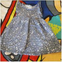 Vestido mini flores - 6 a 9 meses - Marlan