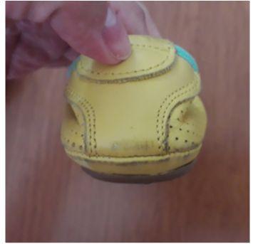 Sapatilha amarela - 23 - Tip Toey Joey