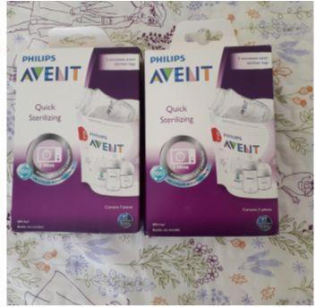 19 saquinhos esterilizadores para mamadeiras Avent - Sem faixa etaria - Avent Philips
