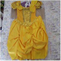 Fantasia/Vestido Bela com luvas - 4 anos - Anjo Fantasias