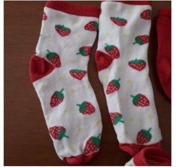 Combo 3 pares de meias pra dormir - 3 anos - Sem marca
