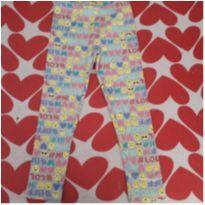 Legging emojis Carter`s - 4 anos - Carter`s