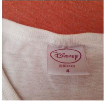 Trio de blusinhas pro dia a dia - 4 anos - Disney e Primark