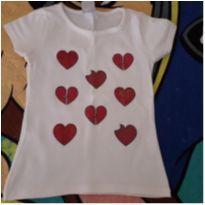 Blusinha corações - 4 anos - Cara Metade