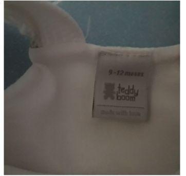 Vestido flores com tapa fralda - 9 a 12 meses - Zara Baby