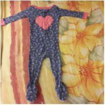 Macacão/Pijama mini flores - 1 ano - Carter`s