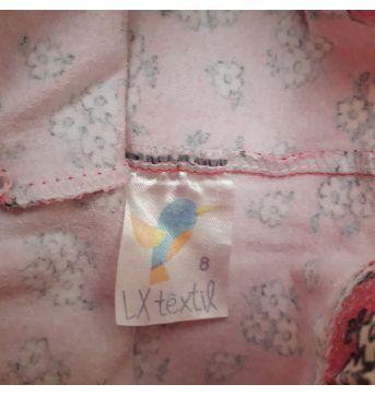 Legging flores - 4 anos - LX Têxtil