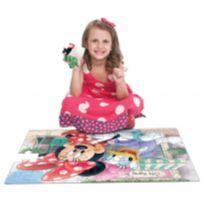 Quebra-cabeça grandão 48 peças Minnie e Margarida