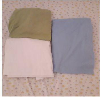 Combo 3 lençóis de berço em malha e com elástico - Sem faixa etaria - Começo de Vida e Vivaldi Confecções