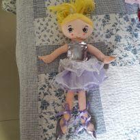Boneca bailarina de pano -  - Não informada