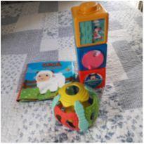 Lote 3 brinquedos bebê menina ou menino -  - Disney e Outras