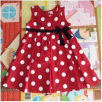 Vestido de festa Minnie - 4 anos - Disney baby