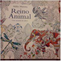 Livro de colorir antiestresse Reino Animal. 96 páginas. -  - Editora Sextante