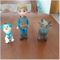 Trio de bonecos Disney Frozen -  - Disney