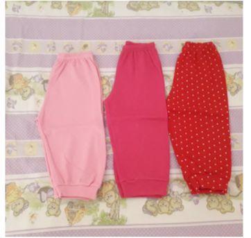 Trio calças de pijama - 1 ano - Top  Chot