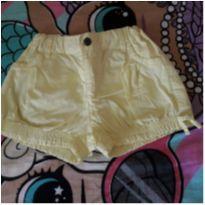 Short amarelo Póim - 4 anos - Poim