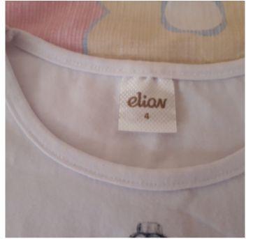 Blusa manga longa frasco de perfume - 4 anos - Elian