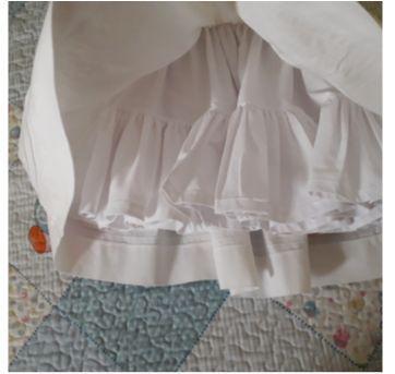 Vestido Batizado bordado à mão. Lindo!! - 6 meses - Ethel Whitehurst