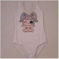 Body de festa com pérolas  Lol Baby - 1 ano - Feita por Costureira