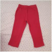 Calça pijama rosa escuro