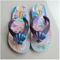 Chinelo Barbie Sereia