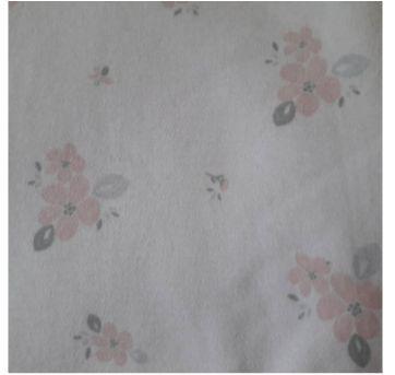 Manta floral dupla face Dedeka - Sem faixa etaria - Dedeka