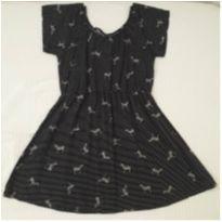 Vestido zebrinhas (6 anos) - 6 anos - Sem marca