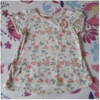 Bata floral Milon ( Veste 18 a 24 meses) - 18 a 24 meses - Milon