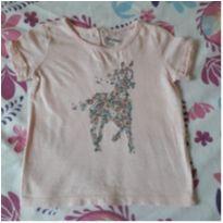 Camisa bordada Baby Gap (18 meses) - 18 meses - Baby Gap