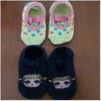 2 pares de meias sapatilhas (Calçam 22 a 25) - 4 anos - Puket e Accessories