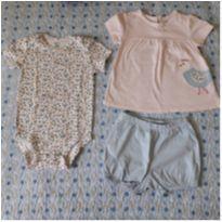 Kit 3 peças Carter`s (18 meses) - 18 meses - Carter`s