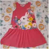 Vestido coelhinho H&M (4 anos) - 4 anos - H&M