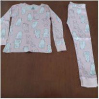 Pijama manga longa cachorrinhos Carter`s (5 anos) - 5 anos - Carter`s