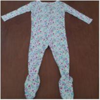 Macacão/Pijama floral Child of Mine (18 meses) - 18 meses - Child of Mine