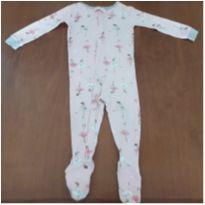 Macacão/Pijama bailarinas Carter`s (18 meses) - 18 meses - Carter`s