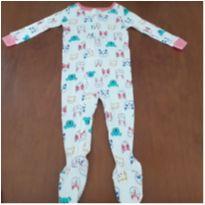 Macacão/Pijama bichinhos Carter`s (18 meses) - 18 meses - Carter`s