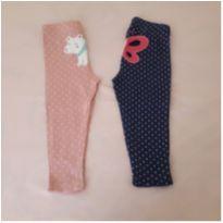 Kit 2 calças de pijama Carter`s ( 18 meses) - 18 meses - Carter`s