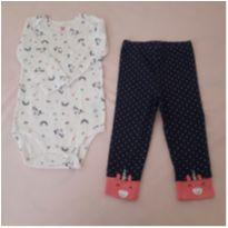 Conjunto/pijama unicórnios  Carter`s (18 meses) - 18 meses - Carter`s