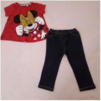 Conjunto montado Minnie (18 a 24 meses) - 18 a 24 meses - Baby Gap e Disney
