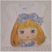 Blusa menina de laço (1 ano) - 1 ano - Não informada