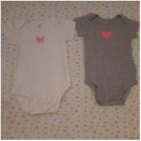 Kit 2 bodies bolinhas coloridas Carter`s (18 meses) - 18 meses - Carter`s