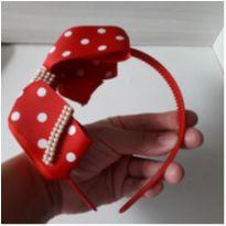 Tiara/Arco laço Minnie -  - Feita à mão
