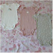 Kit 3 bodies lindos Carter`s (18 meses) - 18 meses - Carter`s
