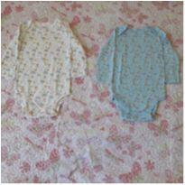 Kit 2 bodies floridos Carter`s (18 meses) - 18 meses - Carter`s