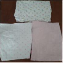 Trio de lençóis para berço com elástico (Carter`s/Circo) -  - Carter`s e Circo