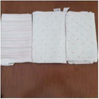 Combo 3 toalhas-fralda -  - Aden + Anais