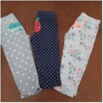 Combo 3 calças de pijama Carter`s (24 meses) - 2 anos - Carter`s