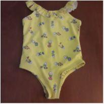 Maiô floral Baby Gap ( 2 anos) - 2 anos - Baby Gap